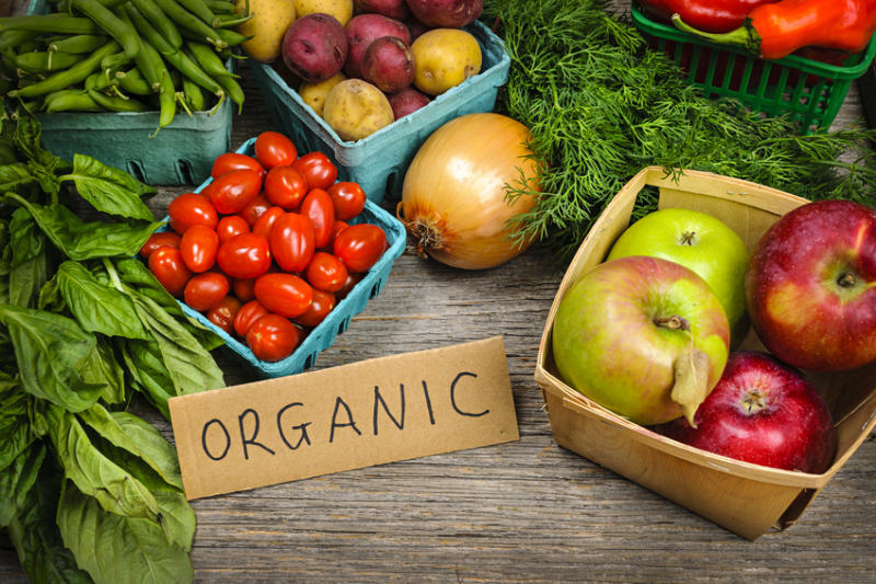 SWITCHING FROM NON ORGANIC TO ORGANIC HELPS WITH HORMONE REGULATION