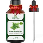 Peppermint Oil – Highest Quality Therapeutic Grade Backed by Medical Research – Largest 4 Oz Bottle with Premium Dropper, Essential Oil Labs